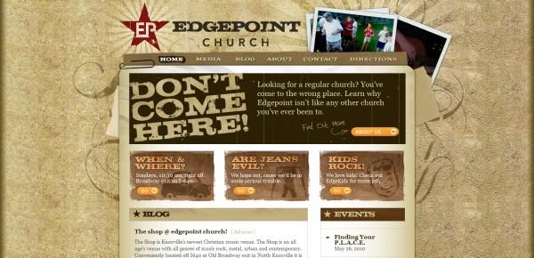 http://www.edgepointchurch.com - примеры красивых сайтов церквей