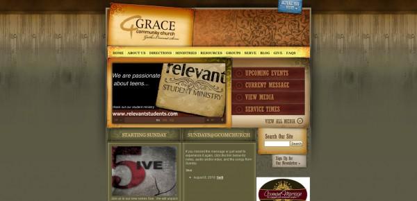 http://www.gcomchurch.com - примеры красивых сайтов церквей
