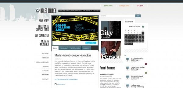 http://www.kaleochurch.com - примеры красивых сайтов церквей
