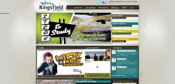 http://www.kingsfieldchurch.org - примеры красивых сайтов церквей