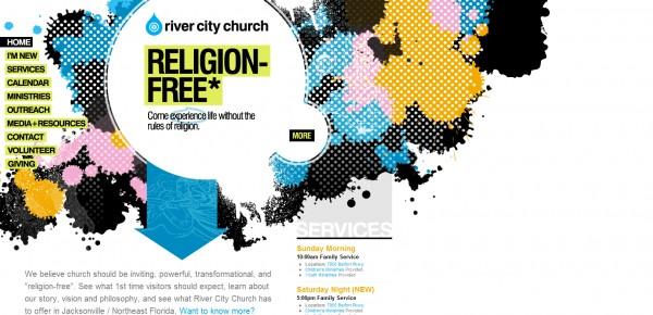 http://www.rccjax.com - примеры красивых сайтов церквей
