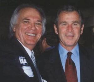 Блессит привел Джорджа Буша к Иисусу